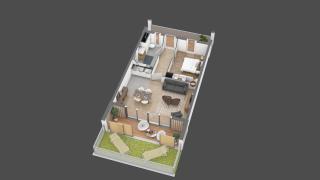 appartement 16 de type T2