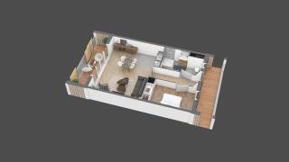 appartement 22 de type T2